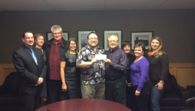 Maple Ridge Community Cheque Presentation