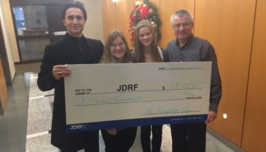 JDRF 2014 Donation